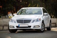 Modello della classe del benz e di Mercedes fotografia stock libera da diritti