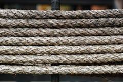 Modello della corda fotografia stock libera da diritti