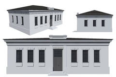 Modello della costruzione Fotografia Stock Libera da Diritti