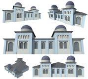 Modello della costruzione Fotografia Stock