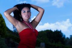 Modello della donna Fotografia Stock Libera da Diritti