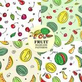 Modello della frutta Immagini Stock
