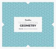 Modello della geometria di tessellazione Fotografie Stock