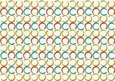 Modello della lettera C nel modello colorato differente delle tonalità royalty illustrazione gratis