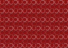 Modello della lettera C nel modello colorato rosso differente delle tonalità royalty illustrazione gratis