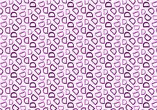 Modello della lettera D nel modello porpora colorato differente delle tonalità illustrazione vettoriale