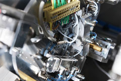 Modello della macchina di industriale fotografia stock libera da diritti