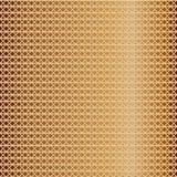 Modello della maglia dorata Immagini Stock