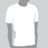 Modello della maglietta Immagine Stock