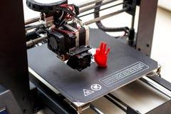 Modello della mano stampata Fotografie Stock