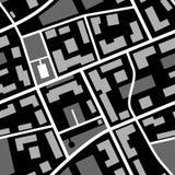 Modello della mappa fotografia stock