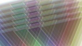 modello della matrice del mosaico del tangram del triangolo 4k, carta di plastica della carta, diamante di geometria frattale archivi video