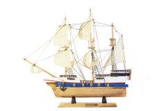 Modello della nave Fotografia Stock Libera da Diritti