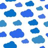 Modello della nuvola Immagini Stock Libere da Diritti