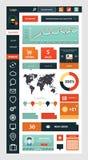 Modello della pagina del sito Web Web design illustrazione di stock