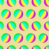 Modello della palla del giocattolo senza cuciture Fotografie Stock Libere da Diritti