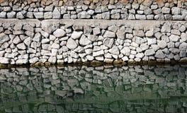 Modello della parete di muratura di pietra Fotografia Stock Libera da Diritti