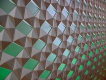 Modello della parete nel teatro dell'opera di Oslo Immagine Stock Libera da Diritti