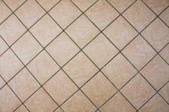 Modello della pavimentazione in piastrelle Tiled ha strutturato il fondo immagini stock libere da diritti