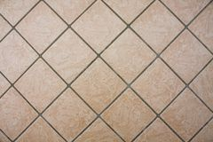 Modello della pavimentazione in piastrelle Tiled ha strutturato il fondo fotografia stock