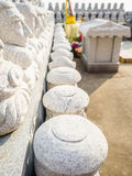 Modello della pietra buddista dei san, nello stile architettonico coreano, Fotografie Stock