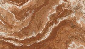 Modello della pietra del marmo di Brown Immagini Stock Libere da Diritti