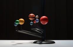 Modello della plastica della galassia fotografia stock libera da diritti