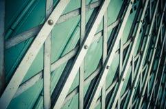 Modello della porta d'acciaio di allungamento Immagini Stock