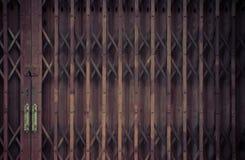 Modello della porta d'acciaio di allungamento Fotografia Stock