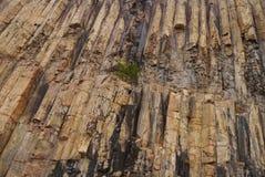 Modello della roccia eruttiva Fotografia Stock Libera da Diritti
