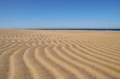 Modello della sabbia Fotografia Stock