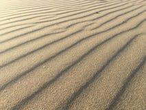 Modello della sabbia Fotografie Stock
