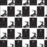 Modello della scacchiera Fotografia Stock Libera da Diritti