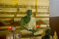 Modello della statua di immagine di Emerald Buddha fotografia stock