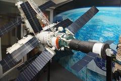 Modello della stazione spaziale del MIR Immagine Stock Libera da Diritti