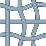 Modello della strada di Seamlessvector illustrazione vettoriale