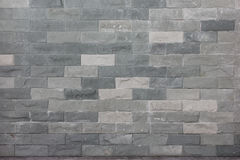 Modello della superficie bianca decorativa della parete di pietra Fotografia Stock Libera da Diritti