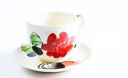 Modello della tazza di caffè Immagini Stock Libere da Diritti