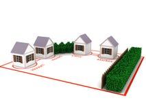 Modello della via illustrazione vettoriale