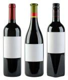 Modello delle bottiglie di vino Fotografia Stock