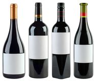 Modello delle bottiglie di vino Immagine Stock Libera da Diritti