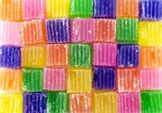 Modello delle caramelle variopinte della gelatina Fotografia Stock