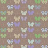 Modello delle farfalle Immagine Stock