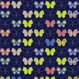 Modello delle farfalle Fotografia Stock Libera da Diritti