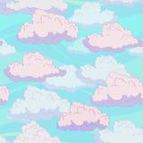 Modello delle nuvole Immagine Stock Libera da Diritti