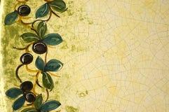 Modello delle olive Fotografia Stock