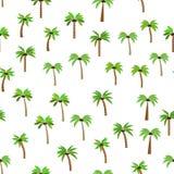 Modello delle palme Immagine Stock Libera da Diritti