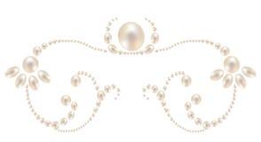 Modello delle perle Immagini Stock