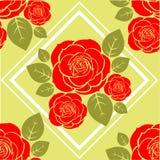 Modello delle rose Immagini Stock Libere da Diritti