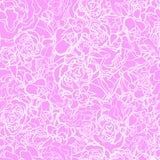 Modello delle rose Fotografia Stock Libera da Diritti
